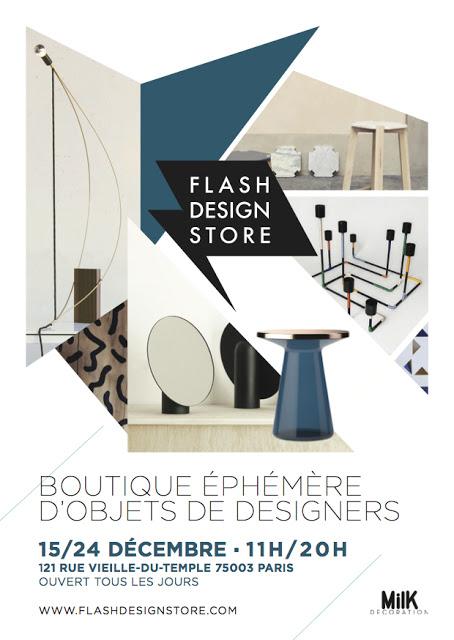 """Ephemeral store """"Flash Design store"""" – Paris"""
