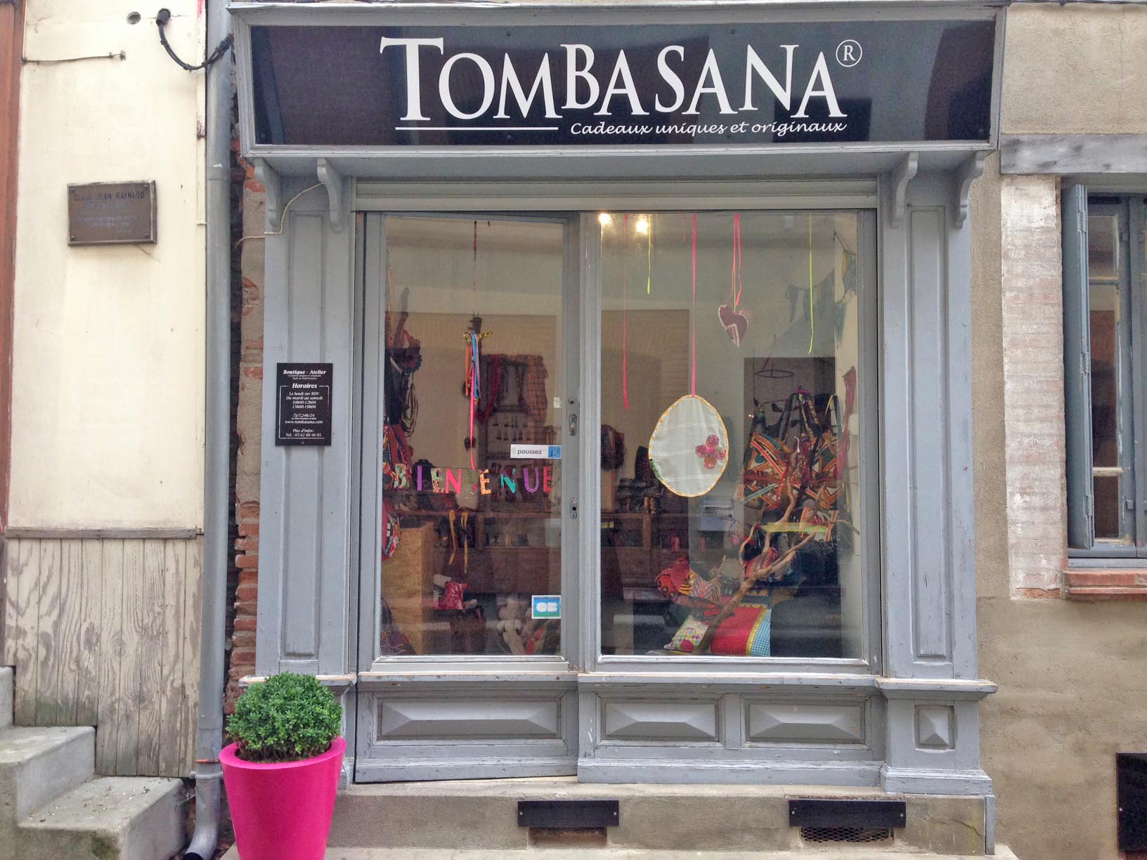 TOMBASANA : La Boutique Tombasana accueille Emilie Cazin Design