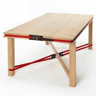 La table basse «Riding» sous les projecteurs de DesignandDesign !