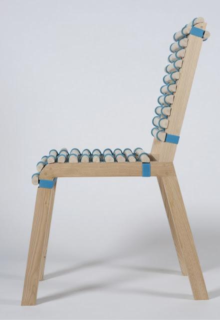 """La Girondine"" chair wins the Furniture price of Bois Design Chataignier"