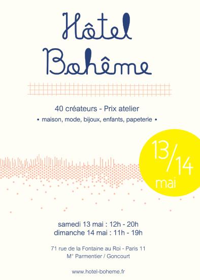 Vente Hôtel Bohème à Paris le 13 et 14 mai 2017