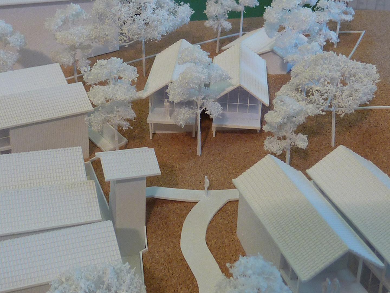 maquette, philippe starck, la co(o)rniche, pyla sur mer, la dune du pyla, hotel, restaurant, prestige